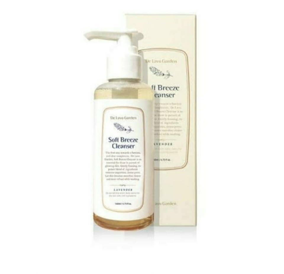 Sữa rửa mặt De Lavo Garden Soft Breeze Cleanser 140ml
