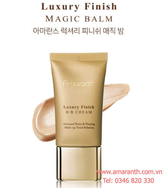 Kem nền cao cấp Amaranth Luxury Finish Magic Balm 40g