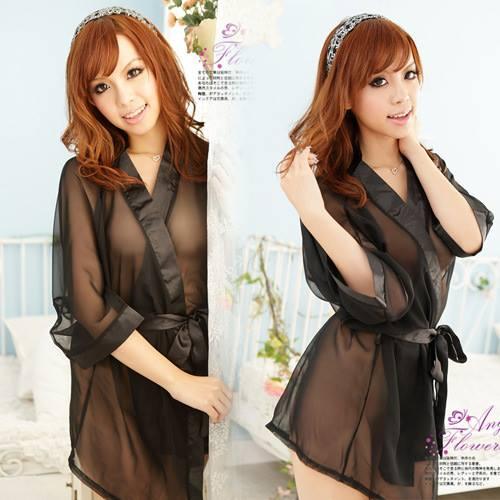 Đầm ngủ áo choàng gợi cảm DN255