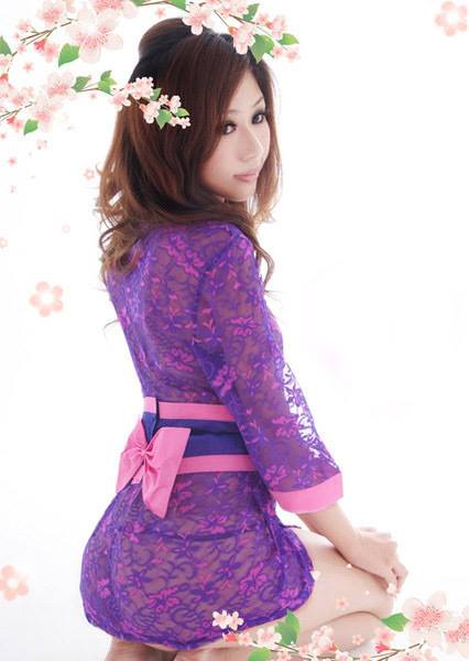 Đầm ngủ Kimono DN256