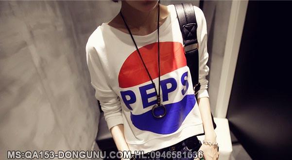 Áo thun Pepsi QA153-trắng