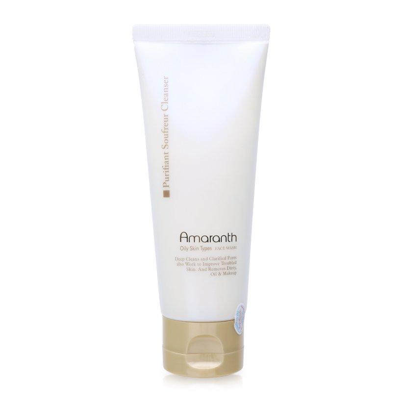 Sữa rửa mặt dành cho da nhờn Amaranth Purifiant Soufreur Cleanser 100g